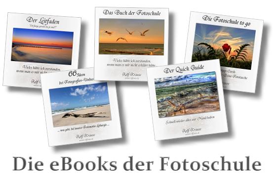 Entdecke Die eBooks der Fotoschule!