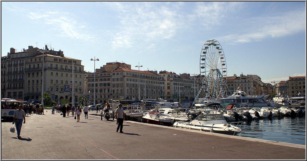 Auf der aidabella im mittelmeer aida151 - Promenade bateau marseille vieux port ...